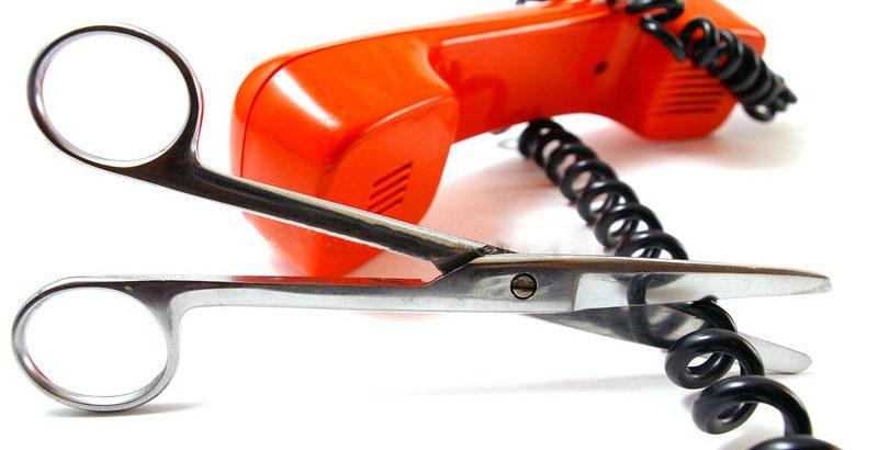 sospensione linea telefonica