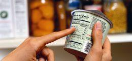 etichette per alimenti