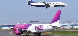 bagaglio a mano a pagamento Ryanair Wizz Air