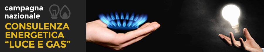 Consulenza energetica Luce e Gas