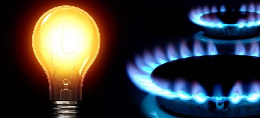 prezzi luce e gas